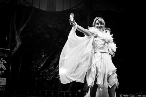 Pareja bailando Bailes de Salón en Donostia